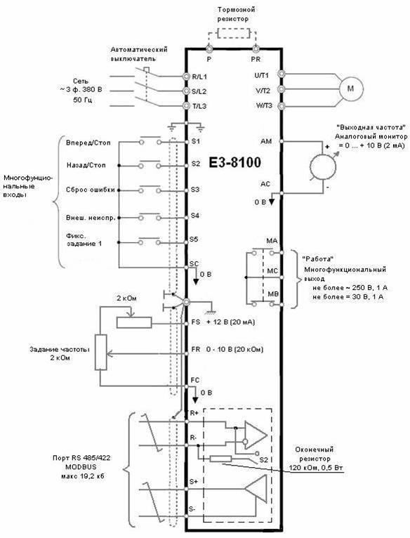 Функциональная схема ПЧ ВЕСПЕР