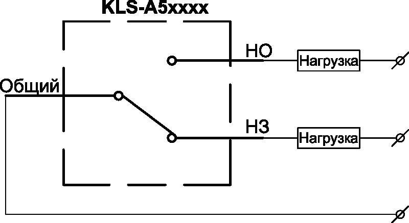 Схема подключения концевых